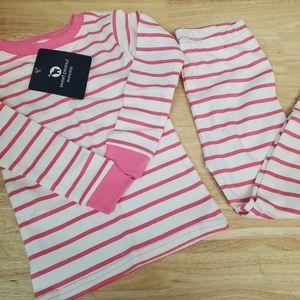 Sweet Peanut Organic Cotton Pajamas, Girl 4T
